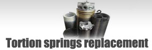 Broken spring replacement