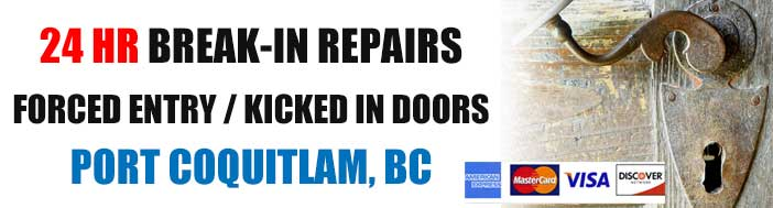 Burglary & Break-in Repairs in Port Coquitlam