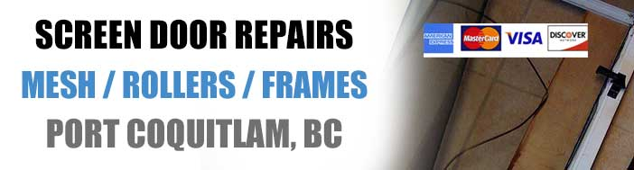 Screen Door Repairs in Poco